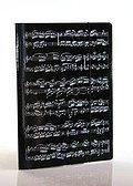 Sammelmappe 'Noten' Sammelmappe mit Gummispanner, Farbe: schwarz, Größe: 23 x 31,5 cm