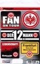 Aufkleberset Eintracht Frankfurt