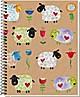 "Spiralbuch ""Funny Sheep"" A5"
