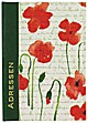 """Adressbuch """"Mohn"""" A5"""