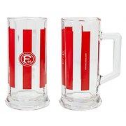 Bierkrug Glas 'F 95' Fortuna Düsseldorf