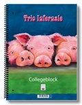 """Collegeblock """"Trio Infernale"""" - A4, VE = 2 Stück"""